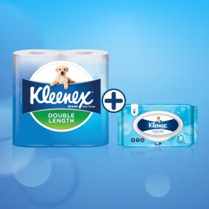 Kleenex, kleenex, double length, toilet tissues, tissue paper, toilet roll, tissues, toiler papers