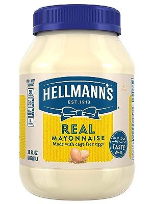 amazon com hellmann s real mayonnaise 30 oz grocery gourmet food