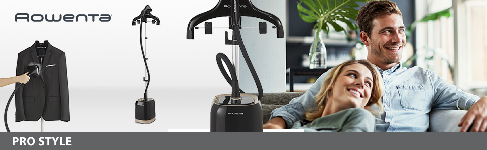 I todo tipo de tejidos altura regulable golpe de precisi/ón Rowenta Pro Style IS3420D1 Cepillo de vapor 1500 W incluye 3 accesorios vapor 30 g//min Reacondicionado desinfecta y elimina olores dep/ósito de 1,5 L