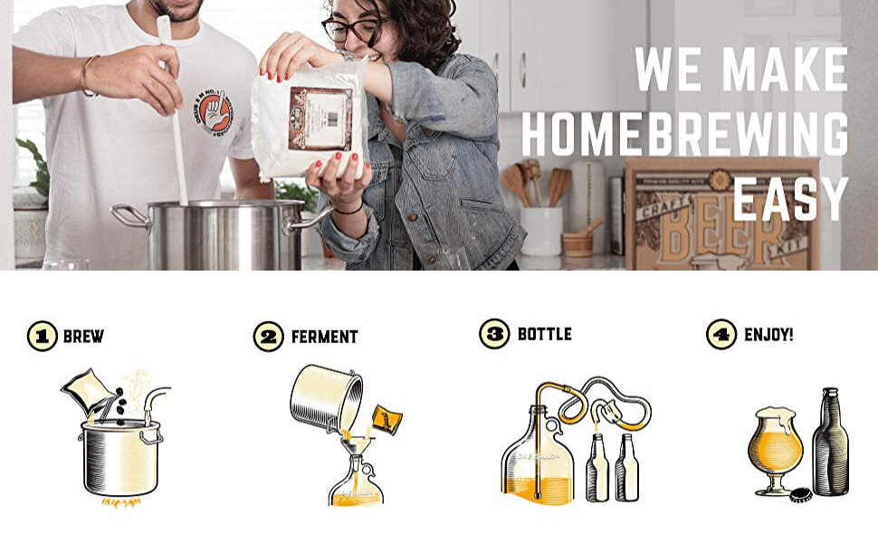 we make homebrewing easy