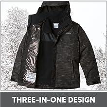 3 in 1 design