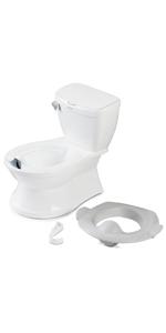 premium potty, best potty, transition potty, potty with hook, easy to clean potty