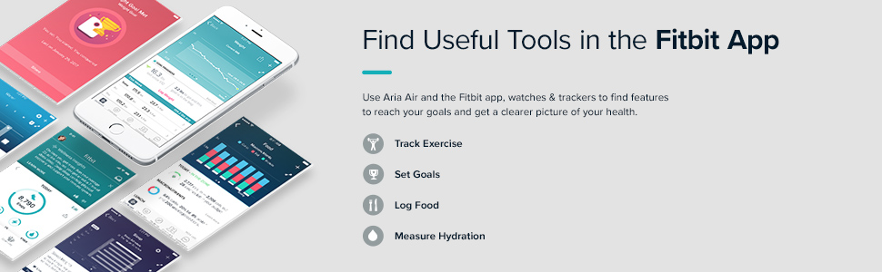 Find useful tools in the Fitbit app