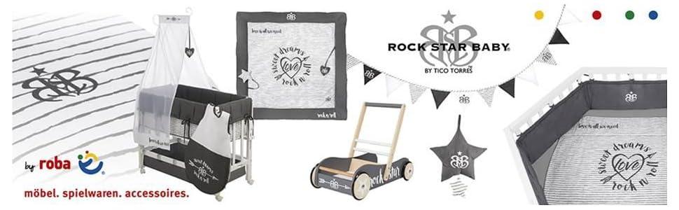 Roba Kids Rock Star Baby Spieltrapez Aktivcenter höhenverstellbaren