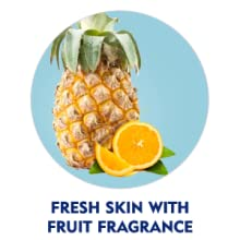 Keep skin fresh with exciting tropical fragrance.