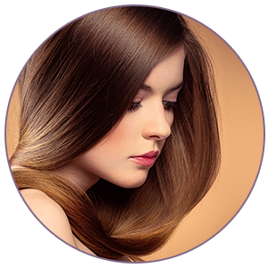 Leaves hair flake-free, soft and glossy