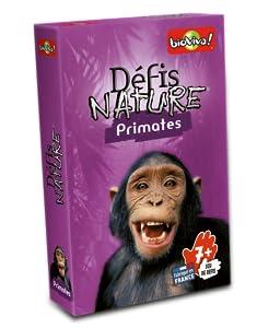 Défis Nature, animaux, primates, collection, fabriqué en France, made in France, jeu, cartes
