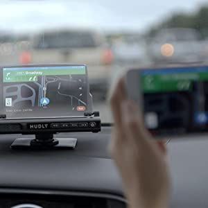 Wirelessly connecting and casting iOS and Android to the Hudly Wireless head-up display HUD