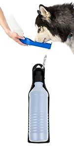 furhaven; image; water bottle; dog bowl; travel