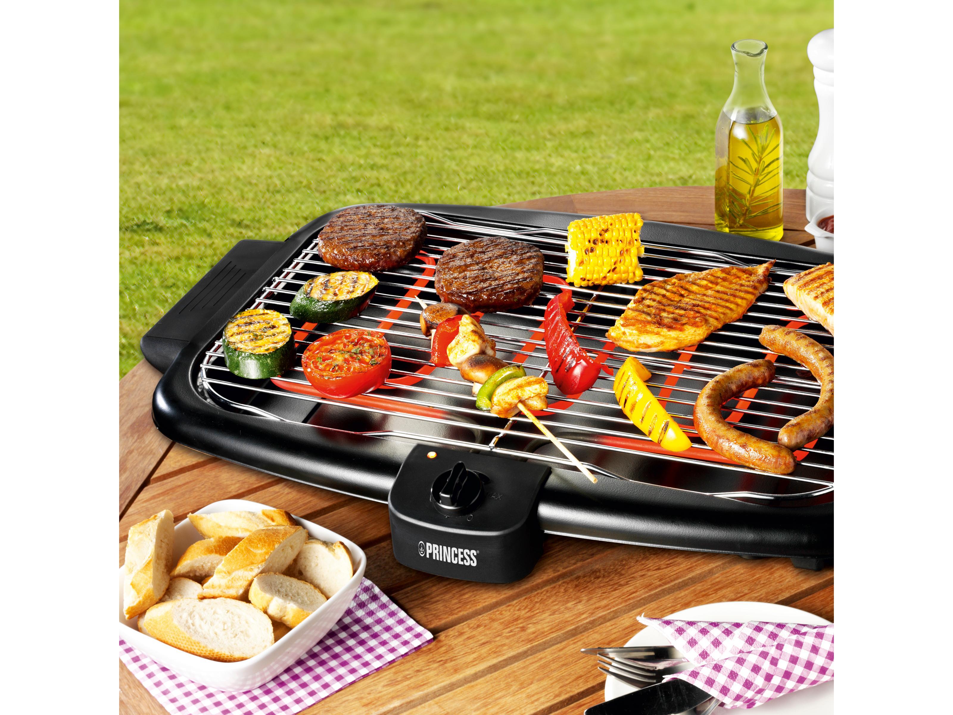 Barbecue elettrico princess 112248 modello da tavolo - Griglia da cucina ...