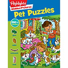 Pet Puzzles - Jumbo Book Of Hidden Pictures® (Highlights Jumbo Books & Pads)