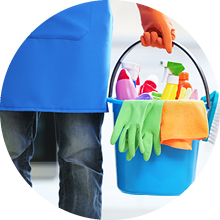 Easy access for babysitters, cleaners or workmen