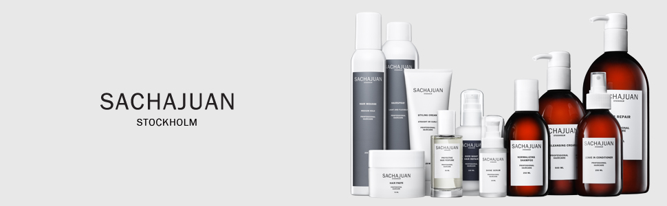 sachajuan hair care products