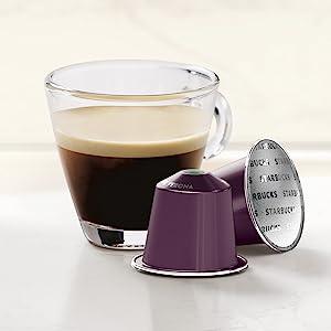 nespresso, starbucks, coffee pods