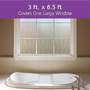 One large Window