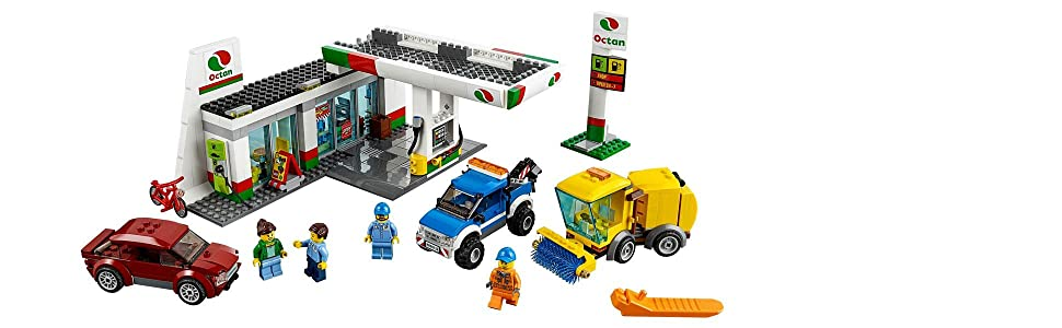 LEGO City Service Station - Package Contents