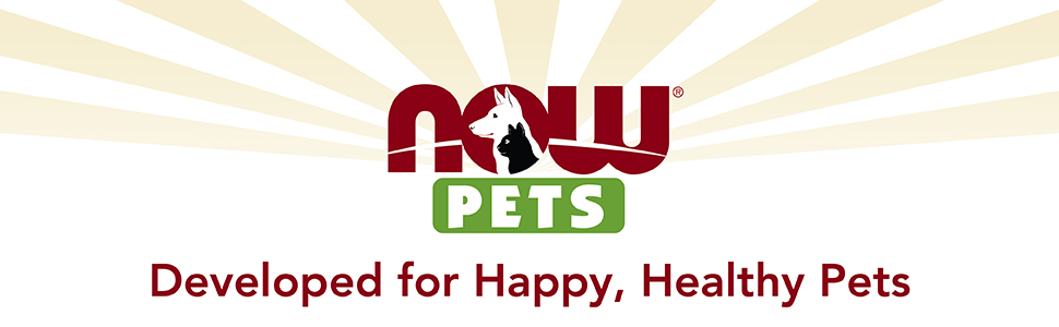 Now Pets developed for happy healthy pets