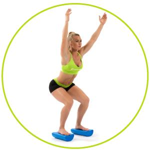 ProSource Balance exercises with Flex Foam Roller, Trigger Point Massage, Pilates, Yoga Roller