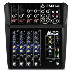 Alto Professional ZMX862 - Mesa de mezclas compacta de 6 canales ...