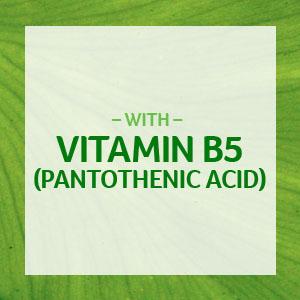vitamin b5; vitamin b5; b5; vitamin b yeast; vitamin b12 500 mcg; vitamin b75 complex