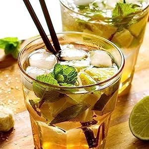 green tea mojito, green moteato
