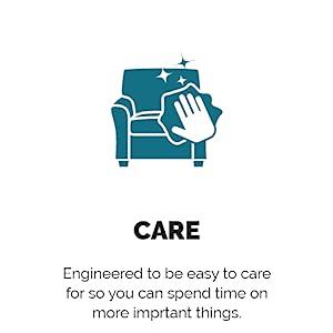 easy care, durable, durability