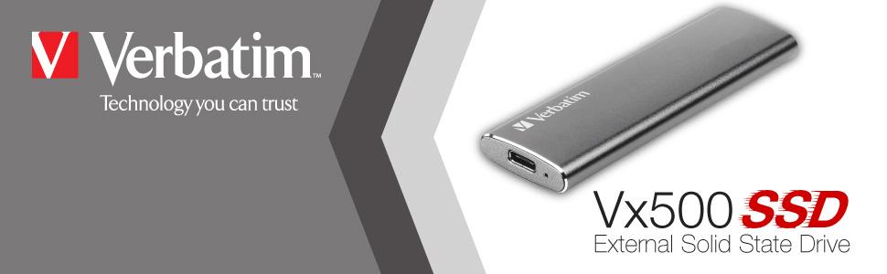Verbatim Vx500 Externe Ssd Festplatte 240 Gb Usb 3 1 Elektronik