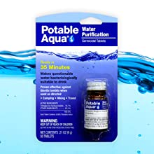 Potable Aqua-Tablets
