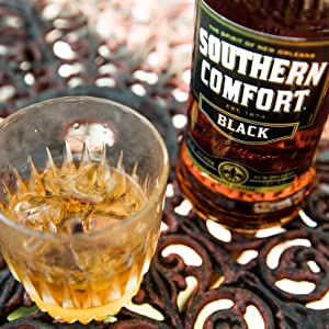 Southern Comfort, black, bourbon, whisky, whiskey, new orleans