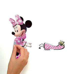 Amazon.com: RoomMates rmk2554scs Mickey y sus amigos Minnie ...