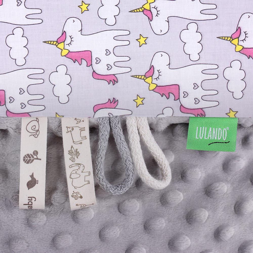 lulando babydecke kuscheldecke krabbeldecke aus 100 baumwolle 80x100 cm super weich und. Black Bedroom Furniture Sets. Home Design Ideas