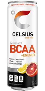 Celsius BCAA Blood Orange Lemonade
