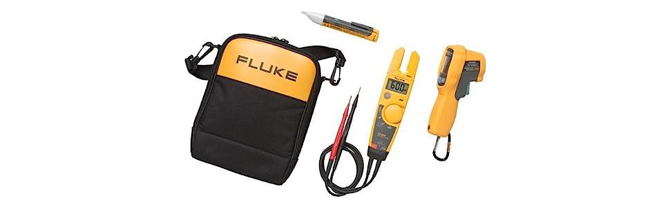 Fluke Solenoid Tester : Fluke t voltage continuity and current digital
