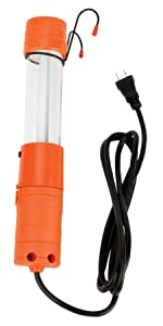 Performance Tool W2251 120V 6 x 16GA 13W CFL Work Light With Magnet /& Hook