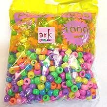 Multi Pastel Pony Beads