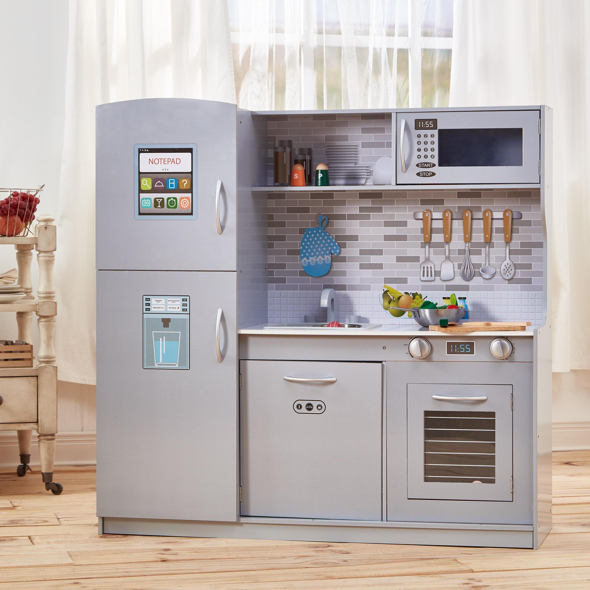 Attrayant Modern Play Kitchen   Light Grey