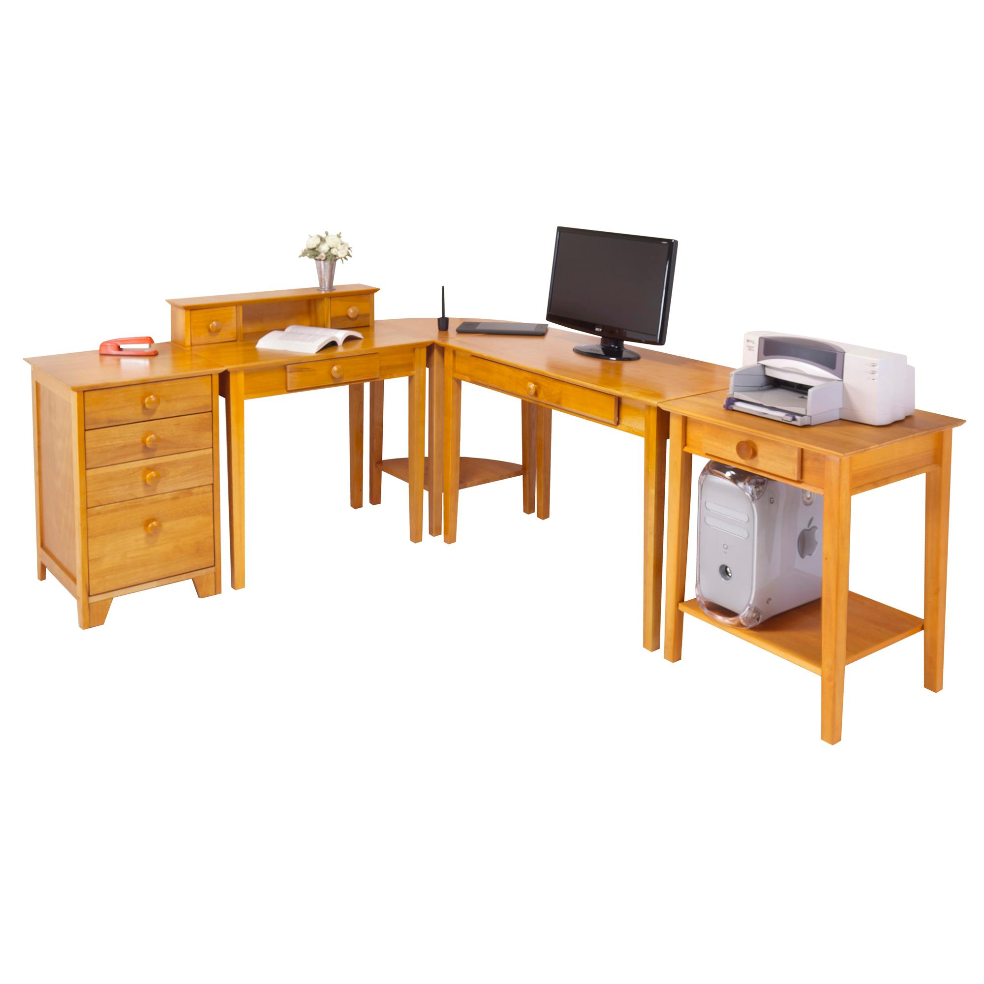 Amazon.com: Winsome Studio Home Office Furniture Set: Kitchen & Dining