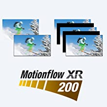 Motionflow XR keeps the action sequences smooth