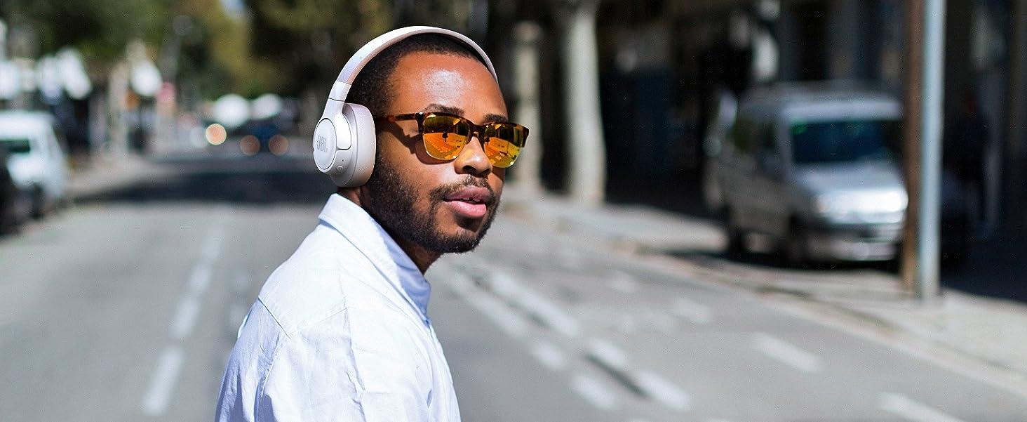 JBL Tune 750BTNC Wireless Bluetooth Over-Ear Headphones with