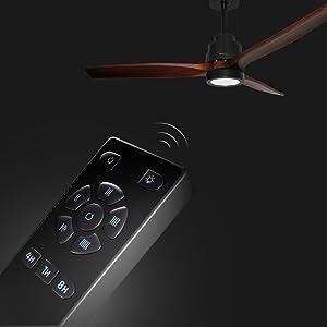 Cecotec ForceSilence Aero 3000 Ventilador de Techo, Luz LED ...