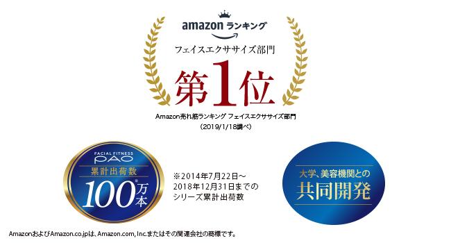 amazonランキング/累計出荷数100万本