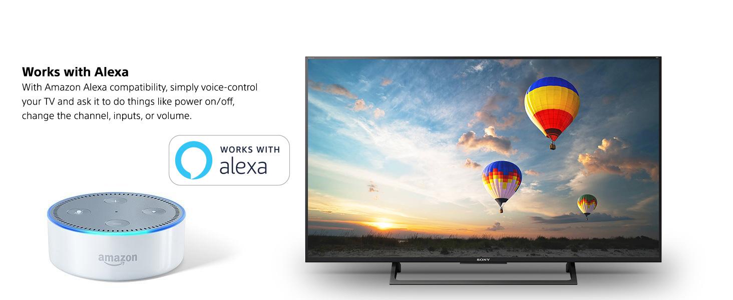 Amazon.com: Sony XBR43X800E 43-Inch 4K Ultra HD Smart LED TV (2017 ...