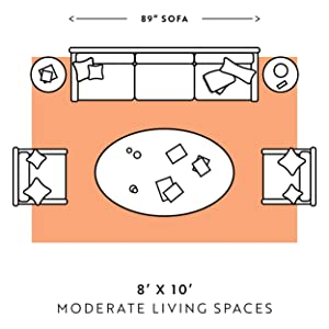 moderate living room