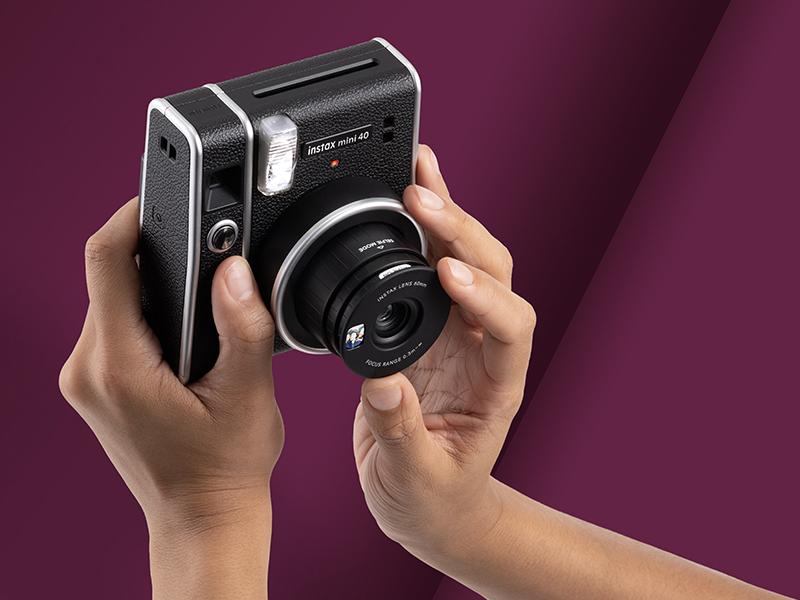 instax mini 40, fujifilm, instax, classic, vintage