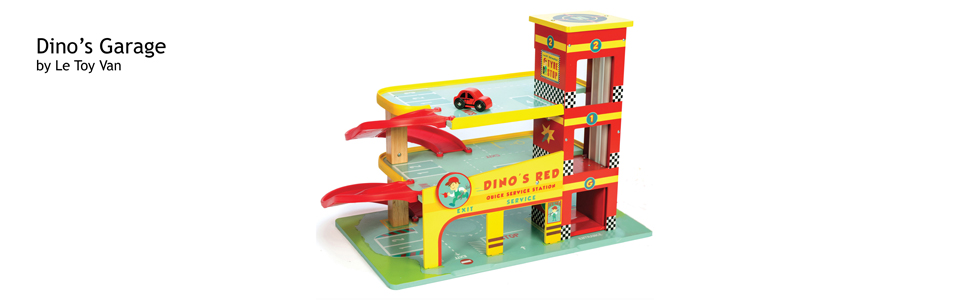 Le Toy Van Dinos Garage