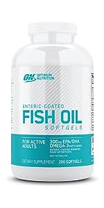Fish Oil Softgel Optimum Nutrition