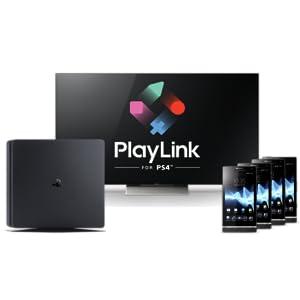 playlink, ps4, playstation, jouer avec son téléphone, sony