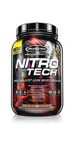 NitroTech, nitro tech, whey protein, whey protein powder