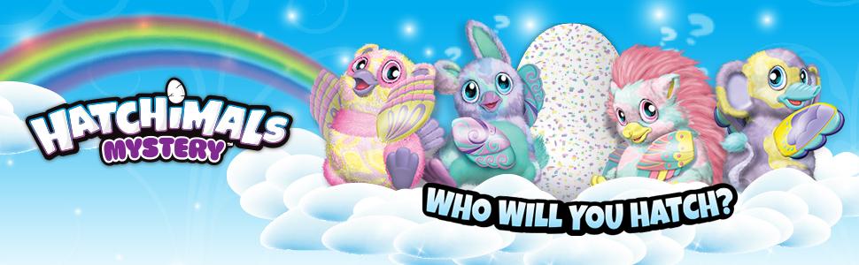 egg, mystery, hatchimals, creature, plush, interactive
