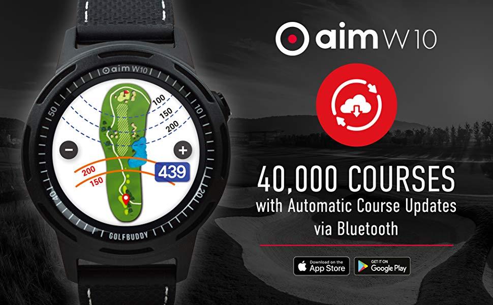 GolfBuddy, Golf GPS